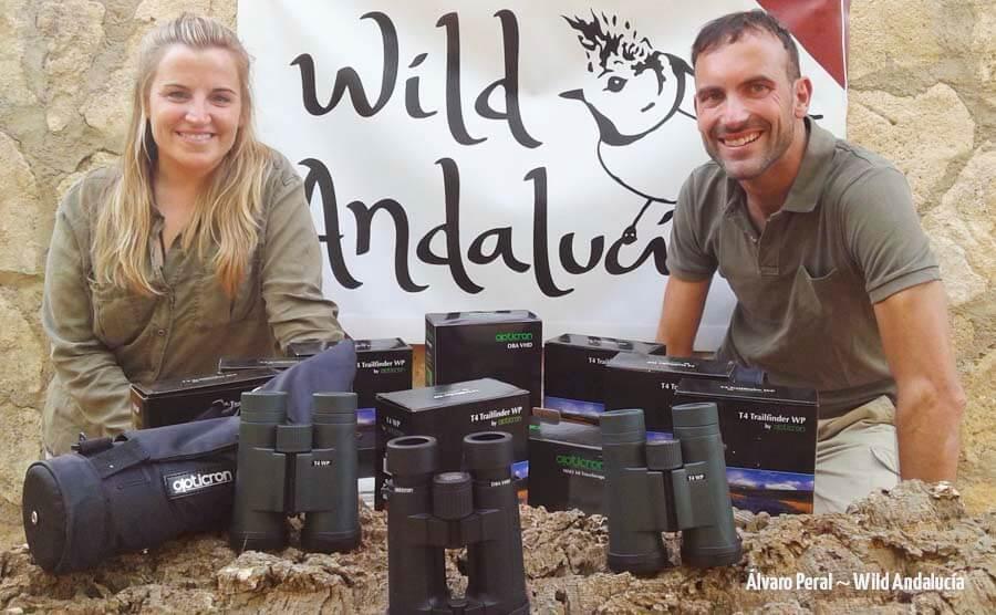 BInoculars for birding in Spain